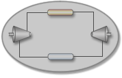 Diagram of a heat engine.